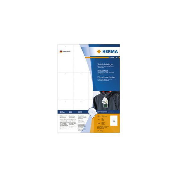 Herma Anhänger für EDV-Beschriftung 93,5 x 52,5mm 6872