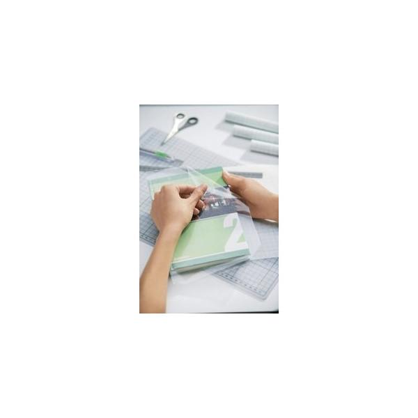 Herma Selbstklebefolie glänzend farblos 40cm x 5m