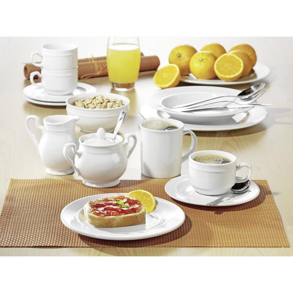 Esmeyer Kaffee-Geschirr-Set Alice 20-teilig weiß Porzellan