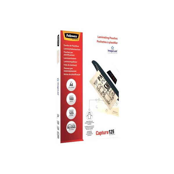 Fellowes ImageLast 5307407 Laminierfolien A4 2 x 125 mic glänzend 100 Stück