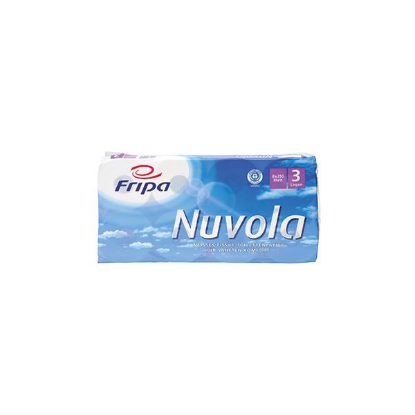 Fripa Toilettenpapier Nuvola 1200801 3-lagig 8 Rollen