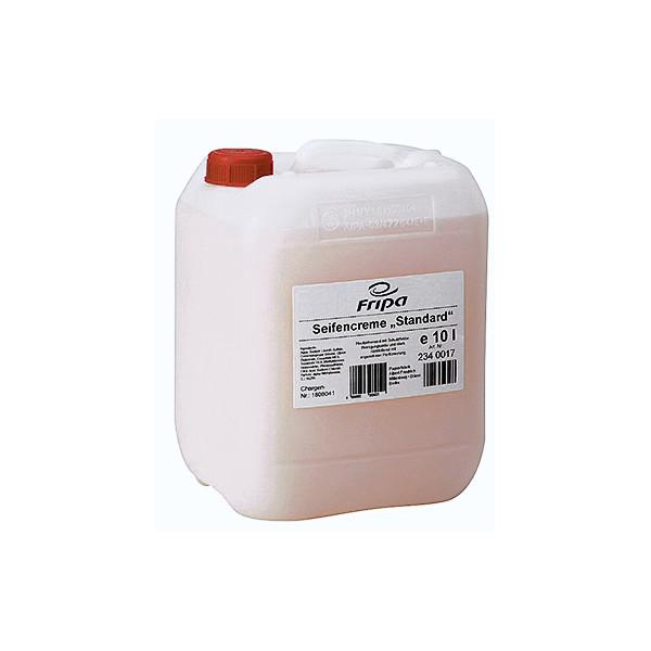 (1,23 EUR/1 l) fripa Seifencreme in 10 Liter Kanister passend für FRIPA Seifenspender