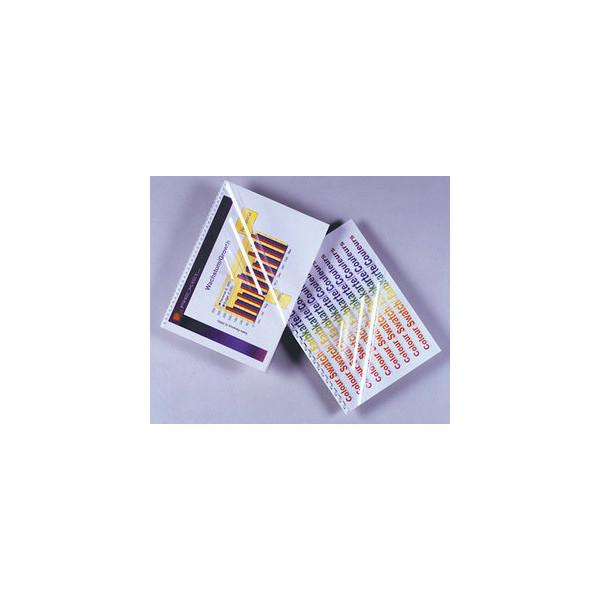 GBC Umschlagfolien HiClear CE011880 A4 PVC 0,18 mm transparent glänzend 100 Stück