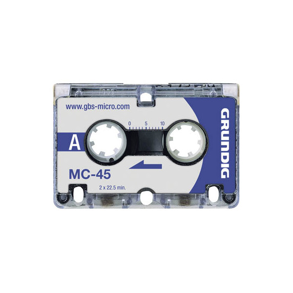 Grundig Microcassette MC-45 3 x 45 min 3 St