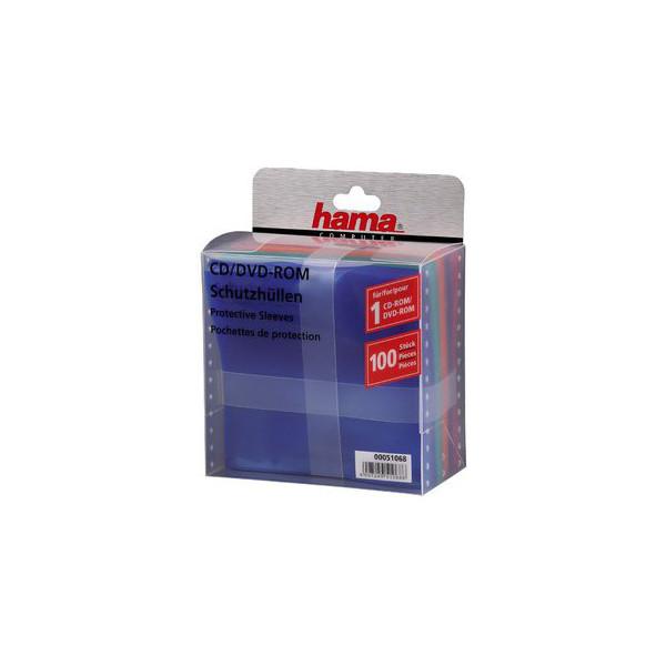 Hama CD-DVD Schutzhuellen 100er