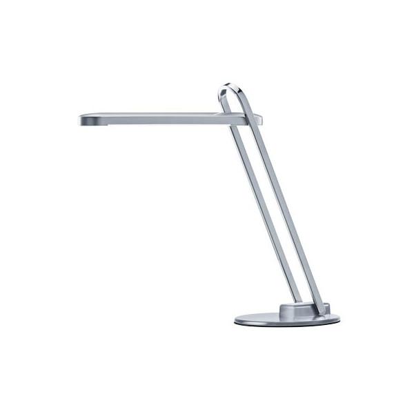 Hansa Schreibtischlampe Firenze H5010636, LED, zusammenklappbar, mit Standfuss, silber
