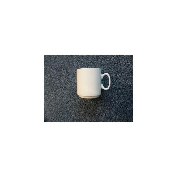 Kaffee-Becher 29cl mit Henkel weiß 8,7cm xD:8cm