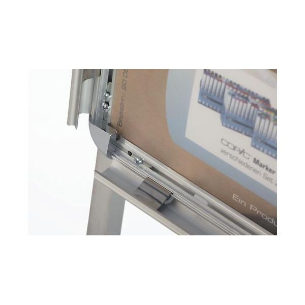 magnetoplan Ersatzschutzfolie 00062 für Kundenstopper A0 2 Stück
