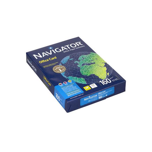 Navigator Office Card A4 160g Kopierpapier weiß 250 Blatt