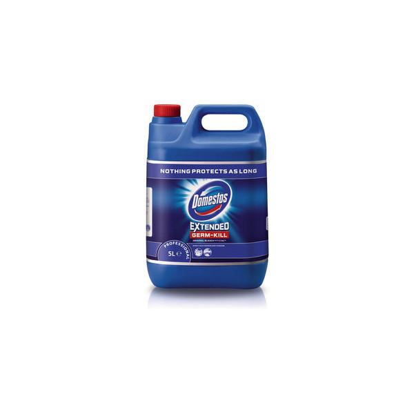(2,23 EUR/1 l) Domestos Professional Original blau 13x17,5x26cm 5 Liter