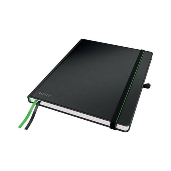 Leitz Notizbuch complete iPad S.80Bl schwarz 24×18,5cm liniert
