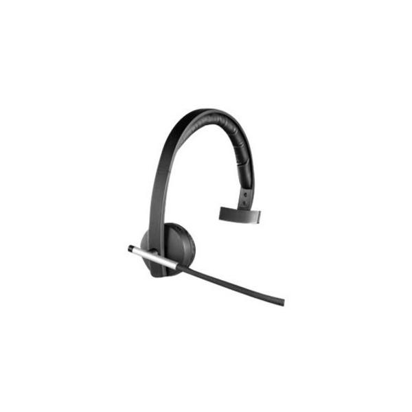Logitech Headset H820e schnurlos mono schwarz DECT