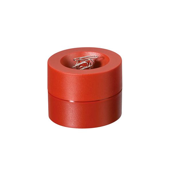 MAUL Klammerspender rot 30123-25 aus bruchsicherem Kunststoff