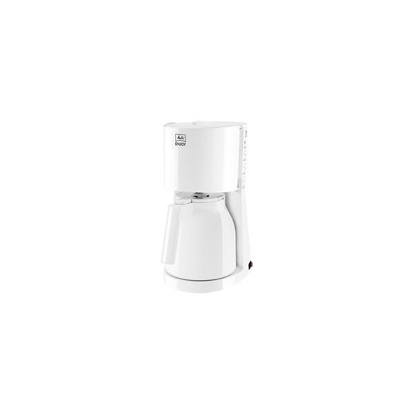 Melitta Kaffeemaschine Enjoy Therm II, weiß, Thermoskanne für bis zu 8 Tassen