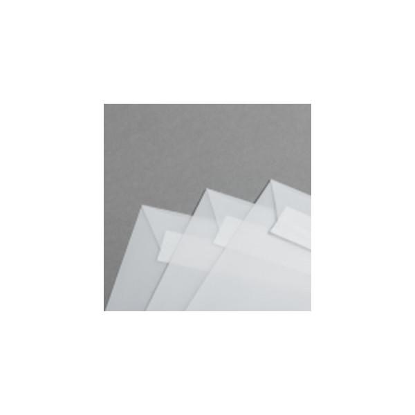 Mayspies Designbriefumschläge Din Lang ohne Fenster haftklebend 80g klar 50 Stück