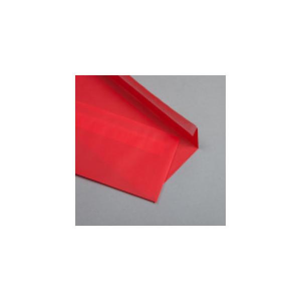 Mayspies Designbriefumschläge Din Lang ohne Fenster haftklebend 100g rot 50 Stück