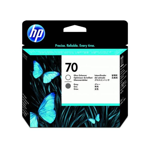 HP Druckkopf Nr.70 für grau/Glanzverstärker - Original