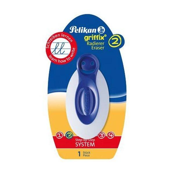 Pelikan Griffix Radierer mit Griffprofil, blau