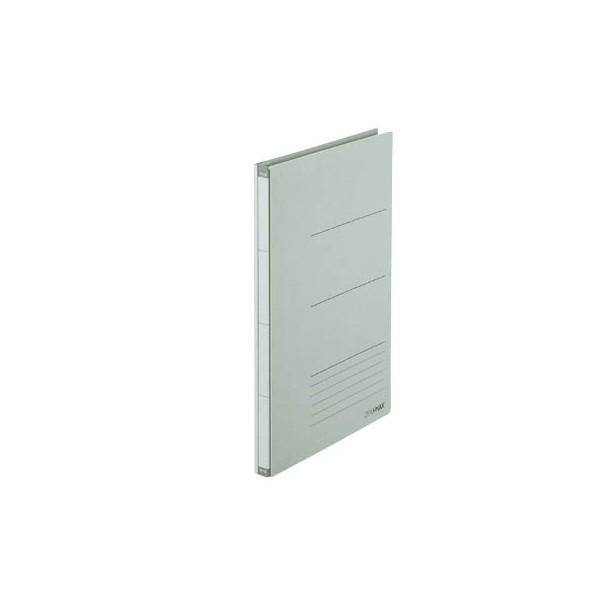PLUS JAPAN Platzspar-Ordner ZeroMax grau ausziehbare Rückenbreite von 1-10cm