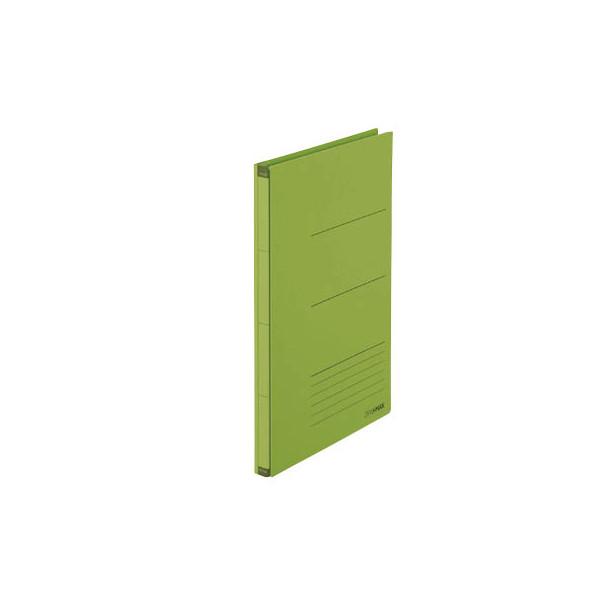 PLUS JAPAN Platzspar-Ordner ZeroMax grün ausziehbare Rückenbreite von 1-10cm