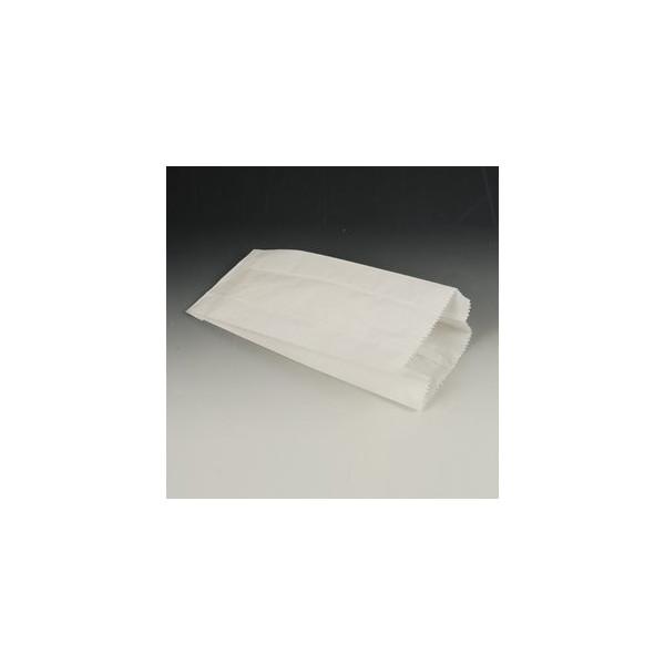Papstar Papierfaltbeutel a.Cellulose weiß 210x100x50mm 1000 St