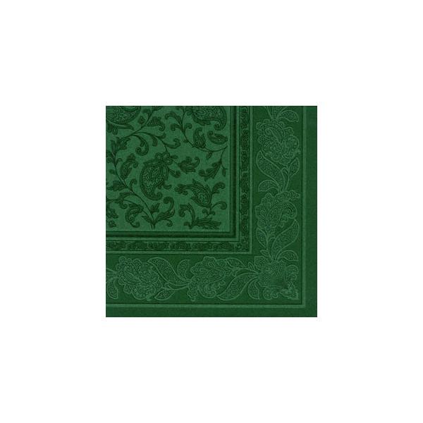 Papstar Servietten ROYAL Col.Ornaments d.grün 40x40cm 50St 1/4 Falz