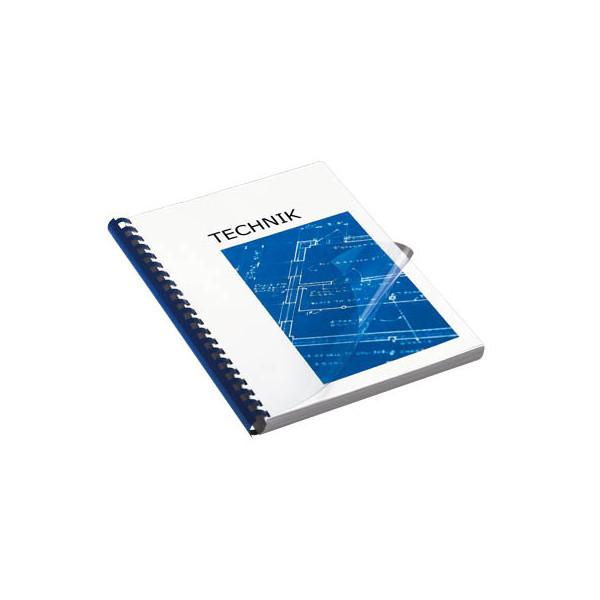 Renz Umschlagfolien 20300094 A4 PVC 0,3 mm transparent glänzend 100 Stück