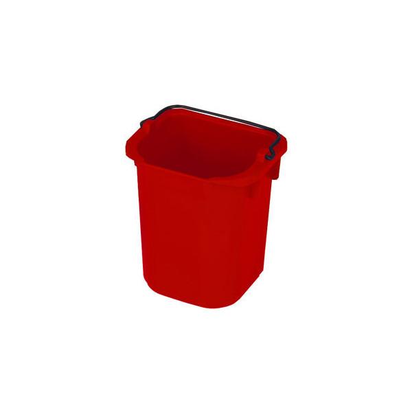 Rubbermaid Eimer 5 L rot 220x205x215