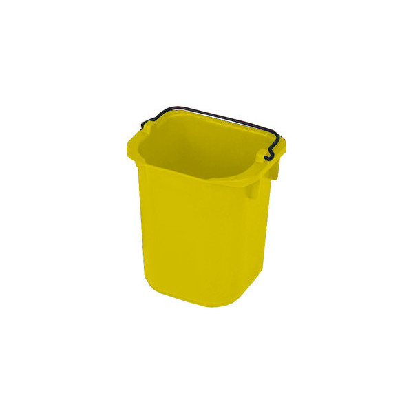 Rubbermaid Eimer 5 L gelb 220x205x215