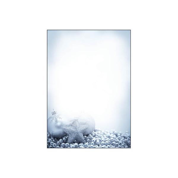 Sigel Weihnachtspapier Blue Mystery A4 100 Blatt DP081