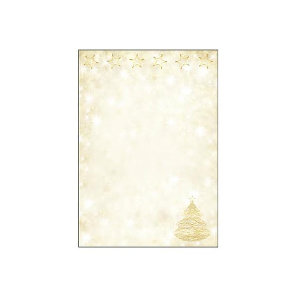 Sigel Weihnachtspapier Graceful Christmas A4 100 Blatt DP083