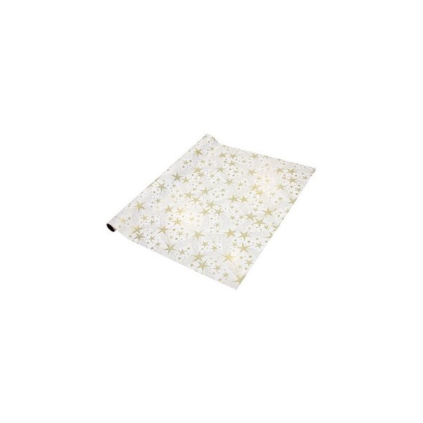 Sigel Weihnachts-Geschenkpapier Dancing Stars 70cm x 5m