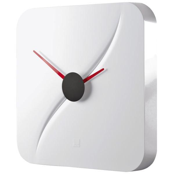 Sigel Design-Wanduhr artetempus® Modell: kada, white, geräuschloses