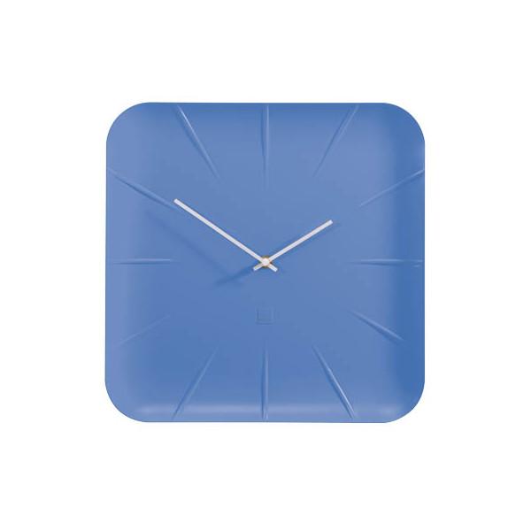 Sigel Design-Wanduhr artetempus® Modell: inu, new blue, geräuschloses
