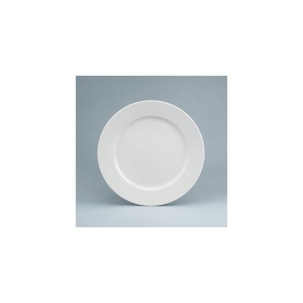 Schönwald Teller Fine Dining flach Ø 21cm weiss Porzellan stapelbar 6 Stück