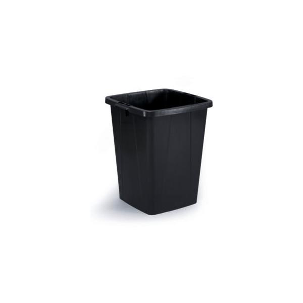 Durable Abfalltonne DURABIN 90 Liter schwarz