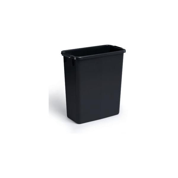 Durable Abfalltonne DURABIN 60 Liter schwarz