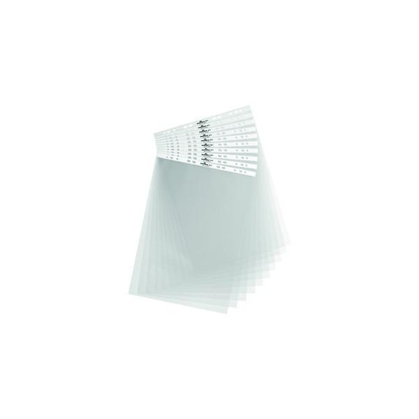 Durable Tischflipcharthüllen A3-hoch genarbt farblos 10 Stück