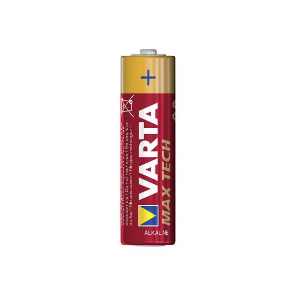 Varta Batterie Max Tech Mignon / LR06 / AA 4 StĂĽck