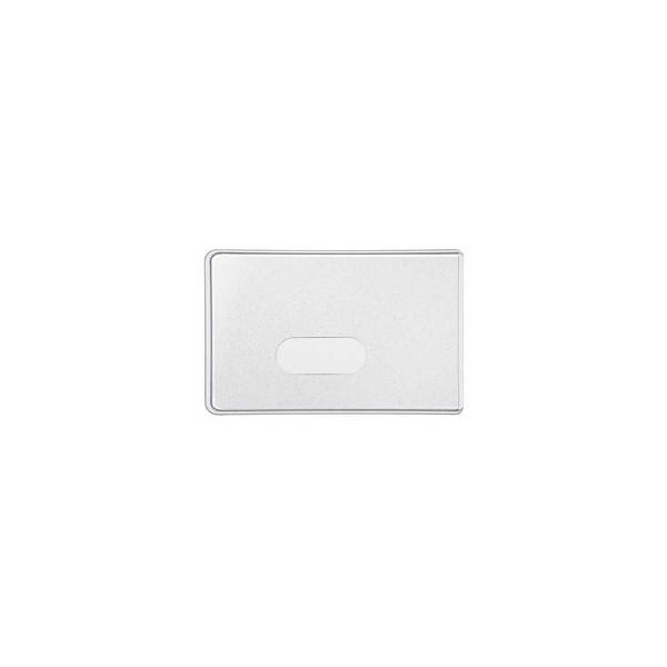 Veloflex Scheckkartenhülle matt gefrost