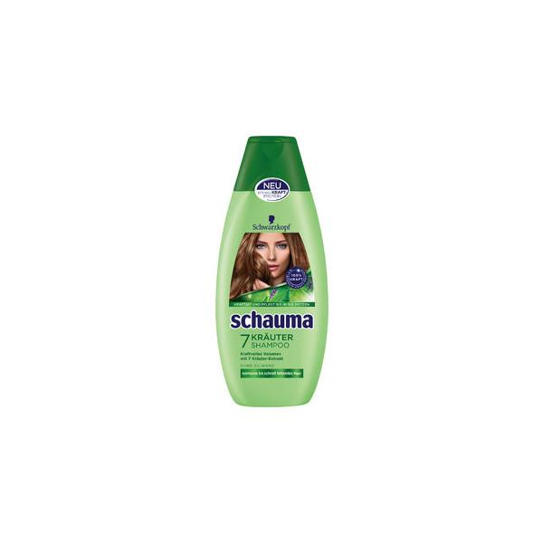 (0,56 EUR/100 ml) Schauma Shampoo 7 Kräuter 400ml