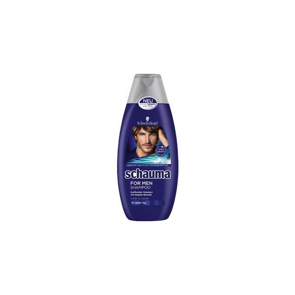 (0,56 EUR/100 ml) Schauma Shampoo for men 400ml