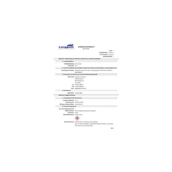 (8,25 EUR/1 l) Bio-Brennspiritus transp. geruchlos 0,75 L