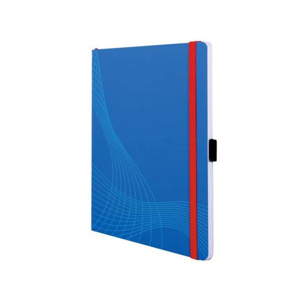 Zweckform Notizbuch Notizio 7041 A5 kariert 90g 80 Blatt 160 Seiten Softcover