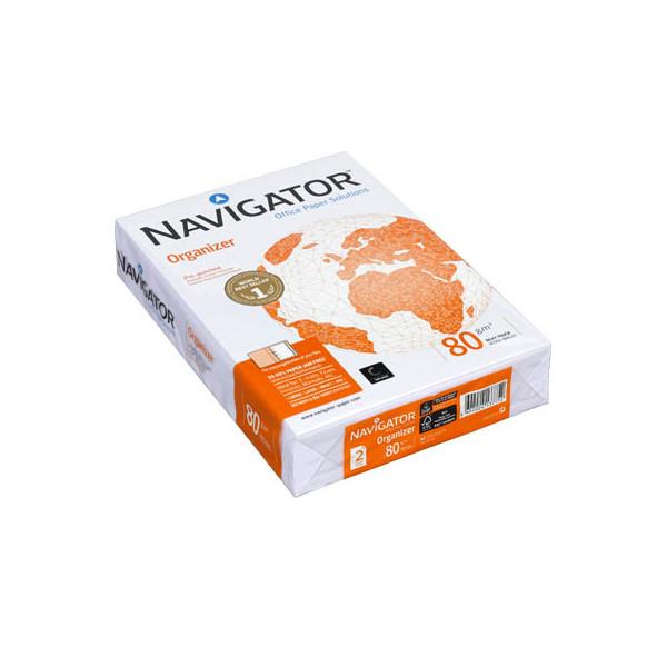 Navigator Organizer A4 80g Kopierpapier weiss 2-fach gelocht 500 Blatt