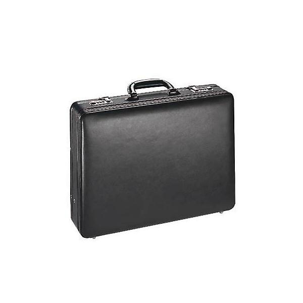 Alassio Aktenkoffer Taormina schwarz Leder
