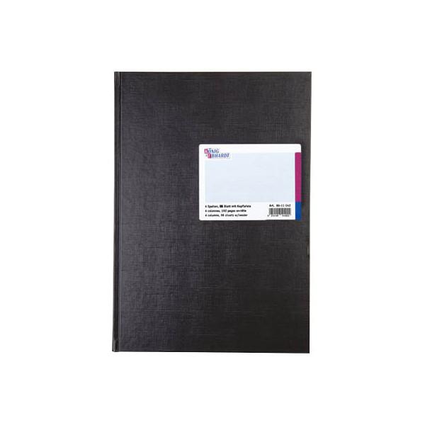 König&Ebhardt Spaltenbuch 86-11042 A4 96 Blatt mit Kopfleiste 4 Spalten über 1 Seite