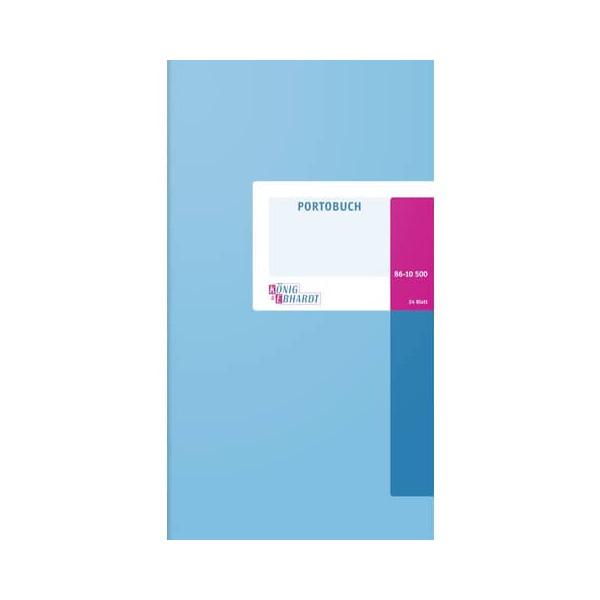 König&Ebhardt Portobuch 3/4 A4 24 Bl.