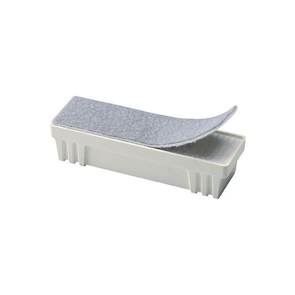 Legamaster Whiteboard-Streifen-Löscher weiß Filzstreifen 14x4,5cm magnethaftend