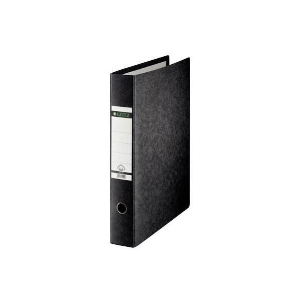 Leitz Ordner 1072 A3-hoch 77mm schwarz Recycling mit Griffloch